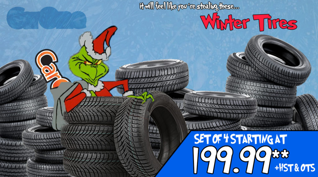 Tires for $199.99