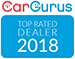 Car Guru Top Rated Dealer 2018
