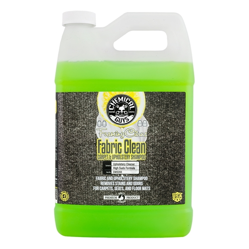 Foaming Citrus Carpet & Upholstery Shampoo/Odour